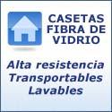 Casetas Fibra de Vidrio
